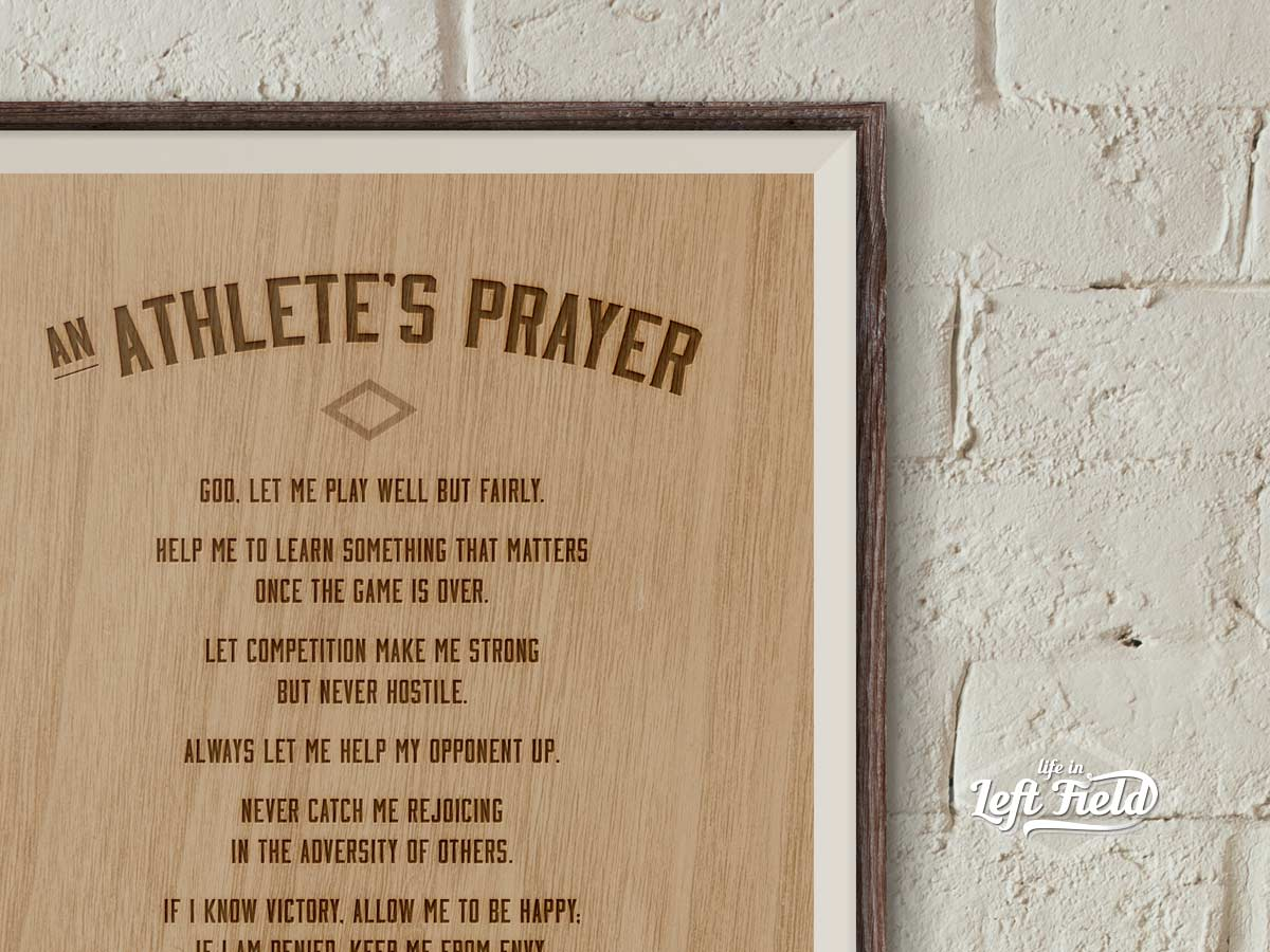 Athlete Prayer Free Printable