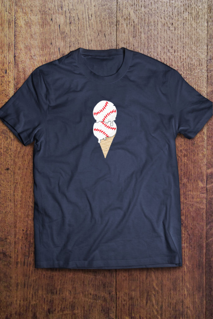 Baseball Ice Cream Double Play - Life in Left Field